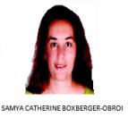 SAMYA CATHERINE BOXBERGER-OBEROI