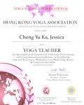 Cheng Yu Ka, Jessica _200 hours certificate