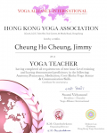 Cheung Ho Cheung, Jimmy _200 hours certificate