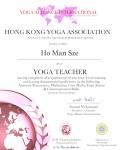 Ho Man Sze _200 hours certificate