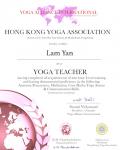 Lam Yan _200 hours certificate