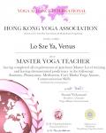 Lo Sze Ya, Venus 500 hours certificate