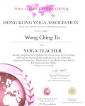 Wong Ching To _200 hours certificate