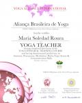 Maria Soledad Roura 500 level_ Certificate
