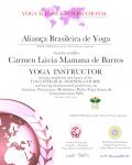 Carmen Lúcia Mamana de Barros Machado 200 level_ Certificate