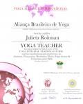 Julieta Roitman 500 level_ Certificate