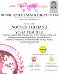 19.	NGUYEN THI HANH 200 hours Certificate