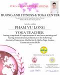 21. PHAM VU LONG 200 hours Certificate