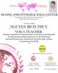 15. NGUYEN BICH THUY 200 hours Certificate