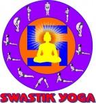 swastik yoga logo