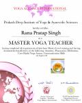 Rana pratap Singh raiwala_500 Level Certificate