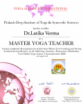 Dr.Latika Verma raiwala_500 Level Certificate